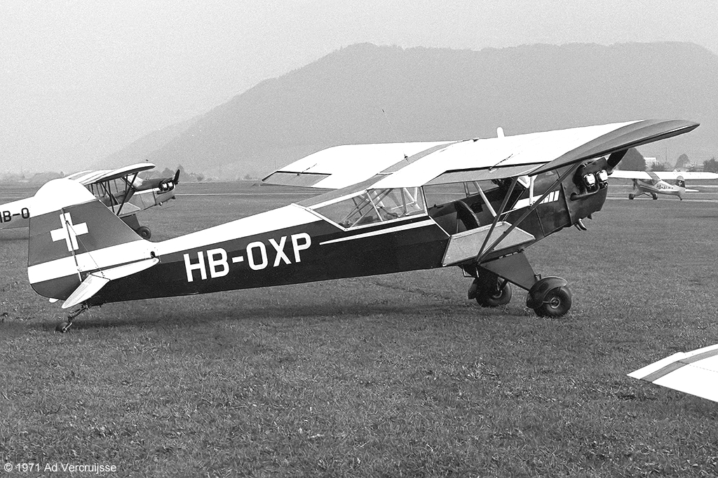 AViation by AViator - 25 August 1971 - Bern-Belp (LSZB)